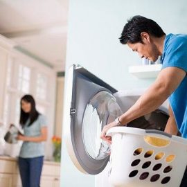 Sử dụng máy giặt – Mối hiểm họa khôn lường đe dọa tính mạng của bé